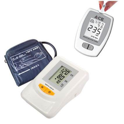 Click to know more BP Monitor ACE Glucometer Combo Packs