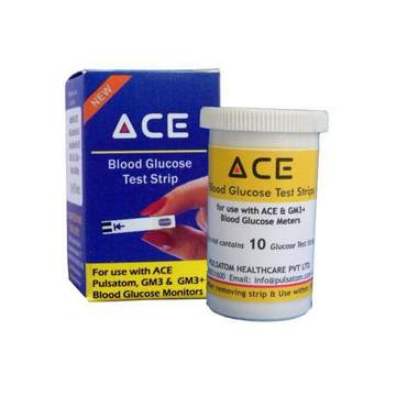 Click to know more Ace Glucometer Test Strips