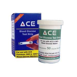 Ace Glucometer Test Strips 3